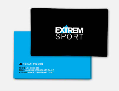 Arthouse design portfolio extremsport print collateral ranging from a logo business cards to online management on facebook etc reheart Gallery